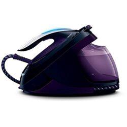 Philips GC9650/80 Dampfbügelstation PerfectCare Elite Silence (Premium-Bügelsohle, Optimal TEMP, 7,5 bar, 500 g/Min Dampfstoß, extrem leicht und leise) violett